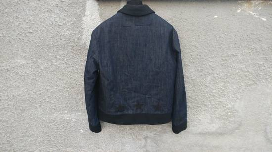 Givenchy Givenchy Star Applique Denim Wool Rottweiler Madonna Bomber Jacket size 48 (M) Size US M / EU 48-50 / 2 - 4