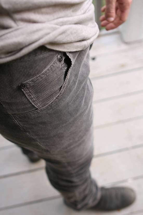 Julius FW07 Spiral Leg Corded Denim Size US 30 / EU 46