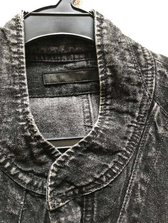 Julius AW12 faded denim jacket with zip. Size US M / EU 48-50 / 2 - 3