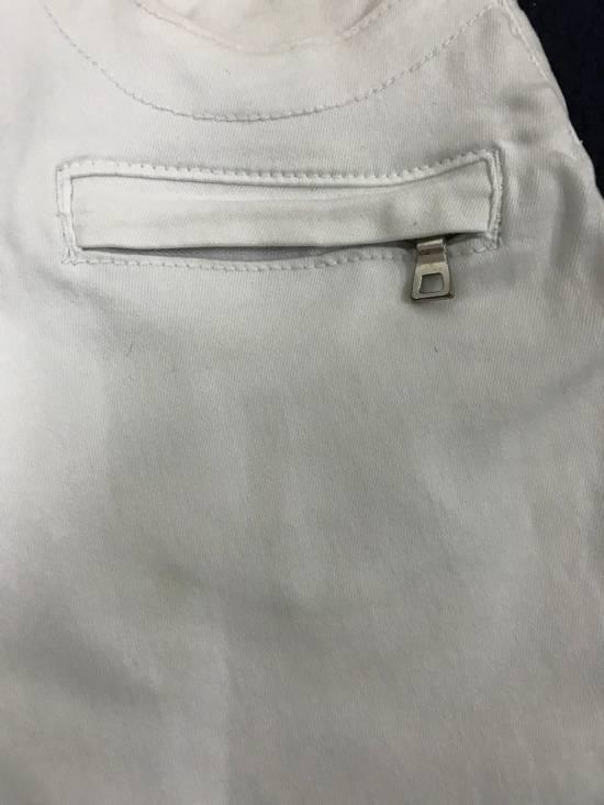 Balmain Balmain Biker All White Denim Jeans Size US 32 / EU 48 - 5