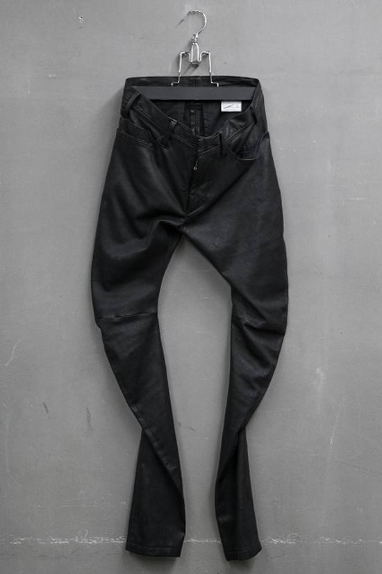 Julius Deerskin Leather Biker Pants Size US 30 / EU 46 - 9