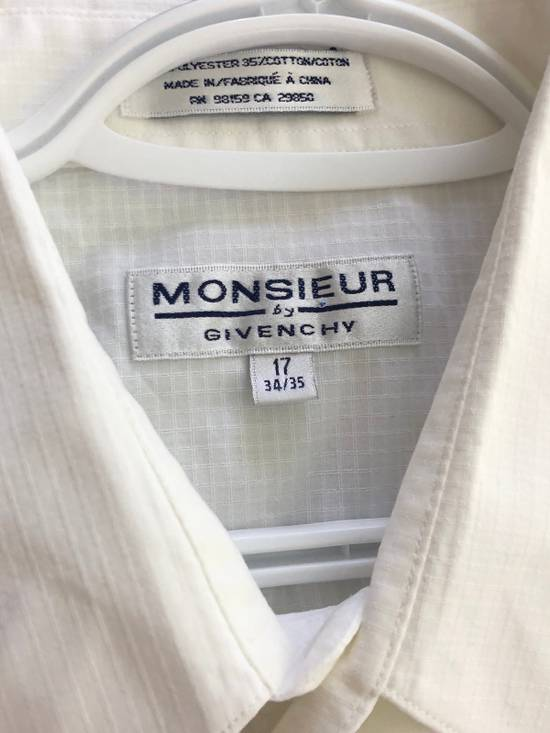Givenchy White Ripstop Long sleeve Button down Size US XL / EU 56 / 4 - 1