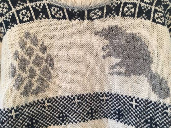 Thom Browne Final price / Donegal Icon Fair Isle Sweater in White Wool Mix Size US L / EU 52-54 / 3 - 3