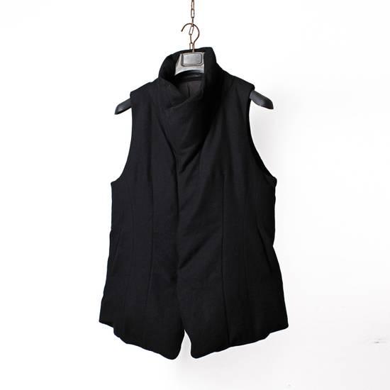 Julius 12aw Black Angora Nylon Serge Vest Size US L / EU 52-54 / 3