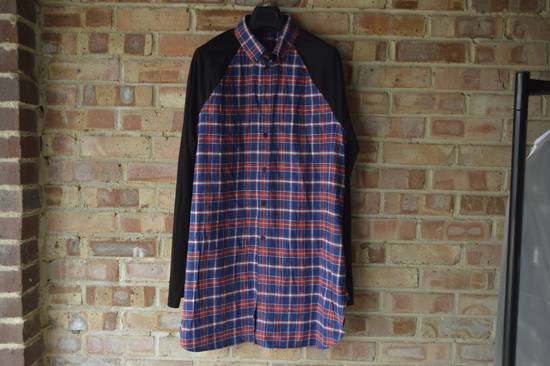 Givenchy Contrast Arms Plaid Shirt Size US XL / EU 56 / 4
