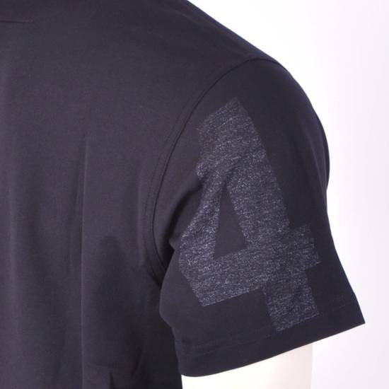 Givenchy Black Cotton Reverse Inside-Out Aloha Print Crew Neck T-Shirt Size US XXS / EU 40 - 4