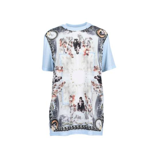 Givenchy Baby Blue Madonna T-shirt Size US XS / EU 42 / 0 - 1