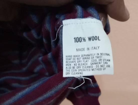 Givenchy Rare!! GIVENCHY long sleeve shirt polo shirt nice design stripe colour small size Size US S / EU 44-46 / 1 - 2