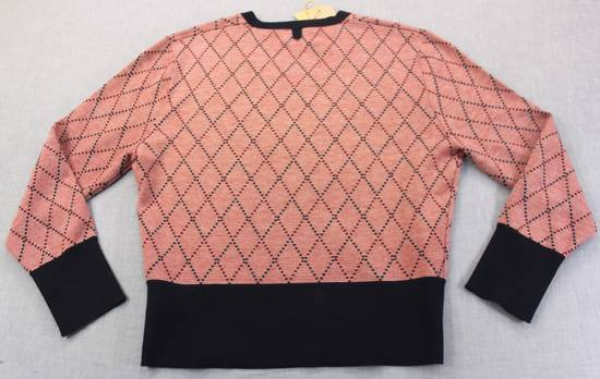 Thom Browne Burgundy Argyle V-Neck Sweater Size 4 NEW Size US XL / EU 56 / 4 - 4