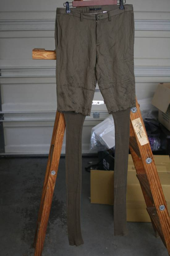 Julius SS07 Cotton-Rayon-Metal 2x Layer Pants Size US 30 / EU 46