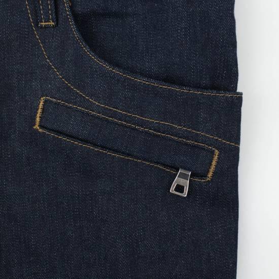 Balmain Blue Denim 'Biker Brut' Slim Fit Jeans Pants Size US 32 / EU 48 - 3