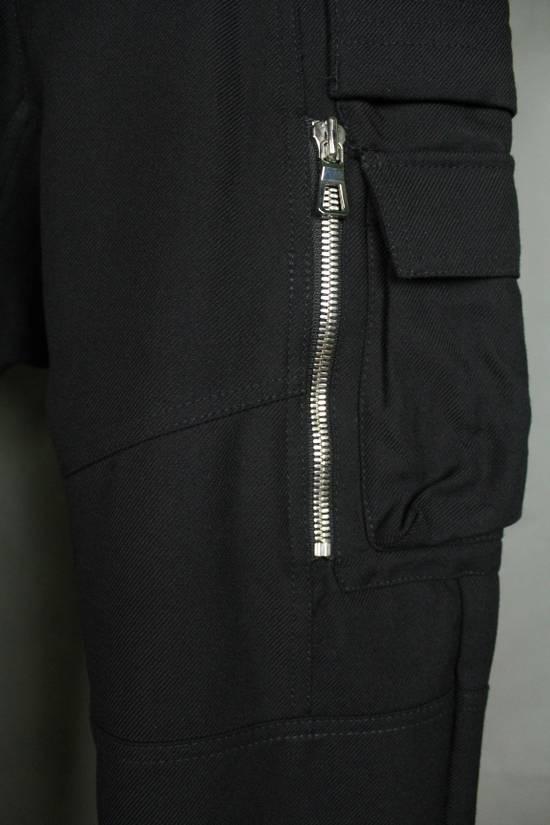 Balmain Balmain X H&M Cargo Biker Wool Pants Size EUR30 Size US 30 / EU 46 - 3