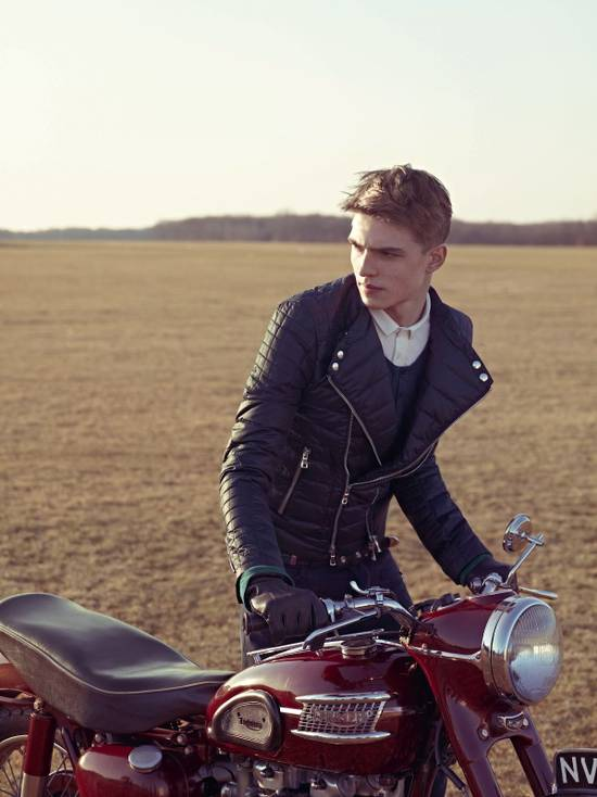 Balmain F/W 12 Leather Jacket Size US M / EU 48-50 / 2 - 5