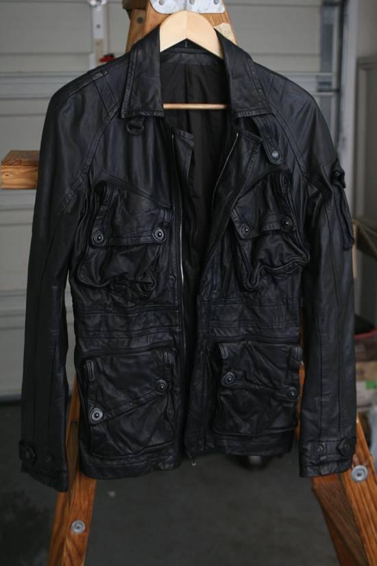 Julius FW08 Cowhide Gasmask Cargo Jacket Size US S / EU 44-46 / 1