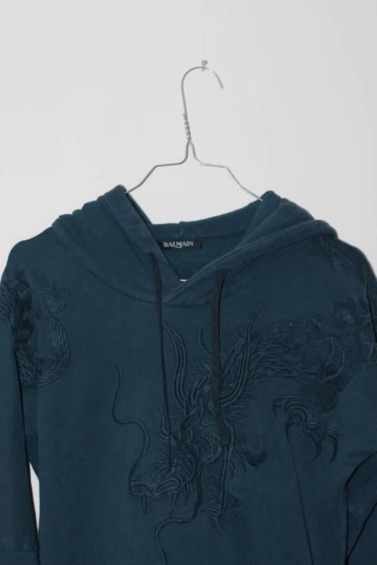 Balmain Embroided Dragon Hoodie Size US S / EU 44-46 / 1 - 1