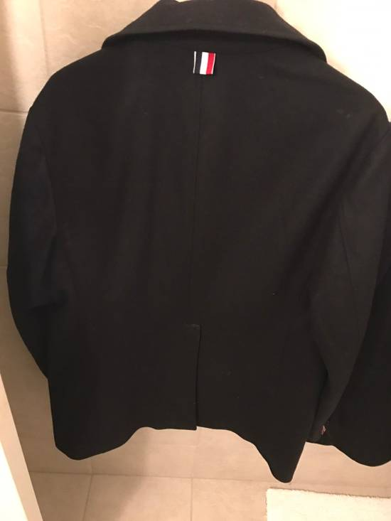 Thom Browne Double Breasted Peacoat Size US L / EU 52-54 / 3 - 3