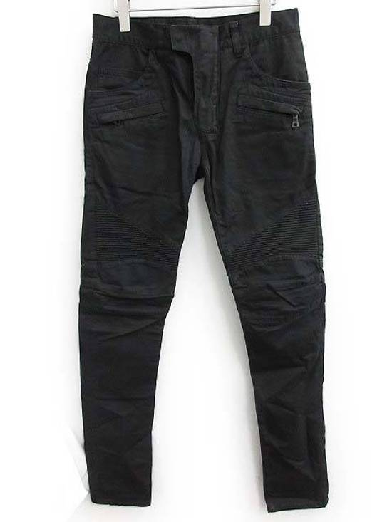 Balmain Balmain Twill Cotton Biker Denim Size US 29