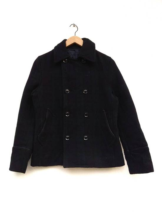 Takeo Kikuchi Takeo Kikuchi Check Plaid Tartan double breast light coat jaket parka Size US M / EU 48-50 / 2