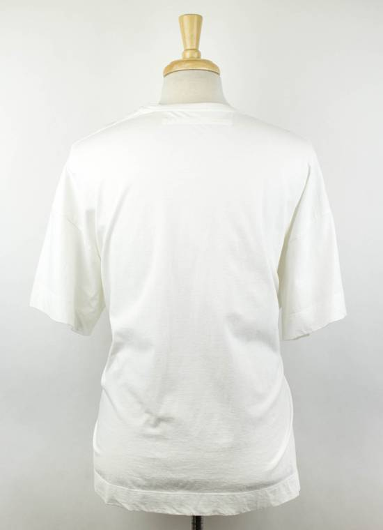 Julius White Cotton Short Sleeve Graphic Crewneck T-Shirt 3/M Size US M / EU 48-50 / 2 - 2