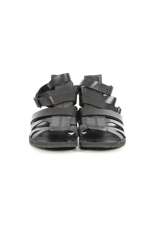 Givenchy Givenchy Black Leather Gladiator Sandals Size US 11 / EU 44 - 1