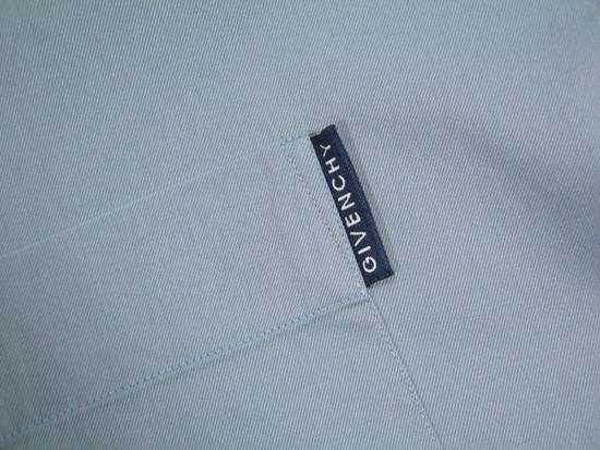 Givenchy Mens GIVENCHY PARIS Blue Cotton Casual Short Sleeve Shirt Size M 39 15.5 Rare Size US M / EU 48-50 / 2 - 3