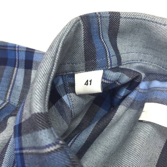 Givenchy Blue Cuban Fit Flannel Shirt NWT Size US M / EU 48-50 / 2 - 11