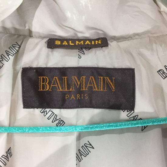 Balmain LUXURY!! BALMAIN Paris Monogram Down Jacket Puffer Jacket / Fall & Winter Hypebeast Jacket / Balmain Raincoat Size US L / EU 52-54 / 3 - 1