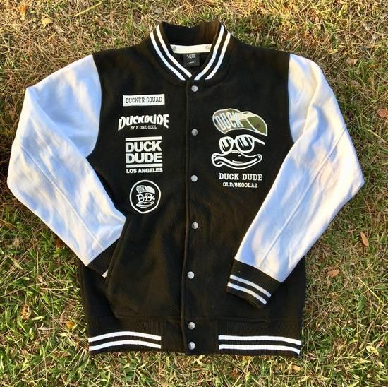 Japanese Brand DUCK DUDE Los Angeles Varsity Jacket by B One Soul NOT OFF WHITE, SUPREME, BAPE, MCM Size US L / EU 52-54 / 3