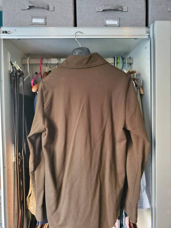 Eidos Napoli EIdos Lupo Brown Knit Button Up Shirt Size US M / EU 48-50 / 2 - 2