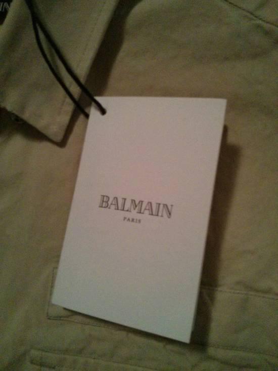 Balmain s/s shirt beige khaki size 50 Size US M / EU 48-50 / 2 - 1