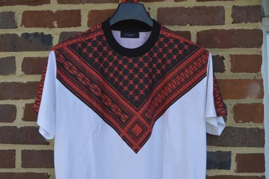 Givenchy White Keffiyeh Print T-shirt Size US XS / EU 42 / 0 - 2