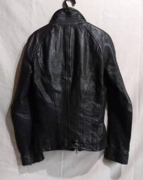 Julius Jut Neck Leather Jacket s/s08 Size US M / EU 48-50 / 2 - 2