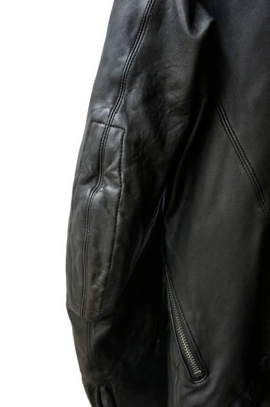 Julius JULIUS _7 ma high neck black lamb biker jacket slim fit Japan Size US S / EU 44-46 / 1 - 20