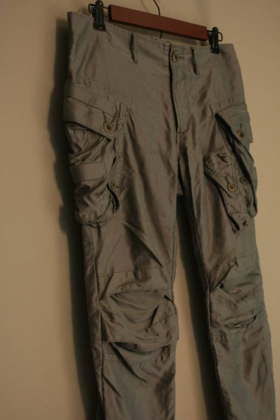 Julius SS10 Cotton-Lyocell Skinny Cargos Size US 31 - 4