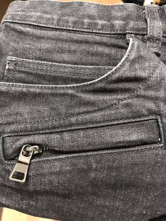 Balmain Black Biker Jeans Size US 31 - 1