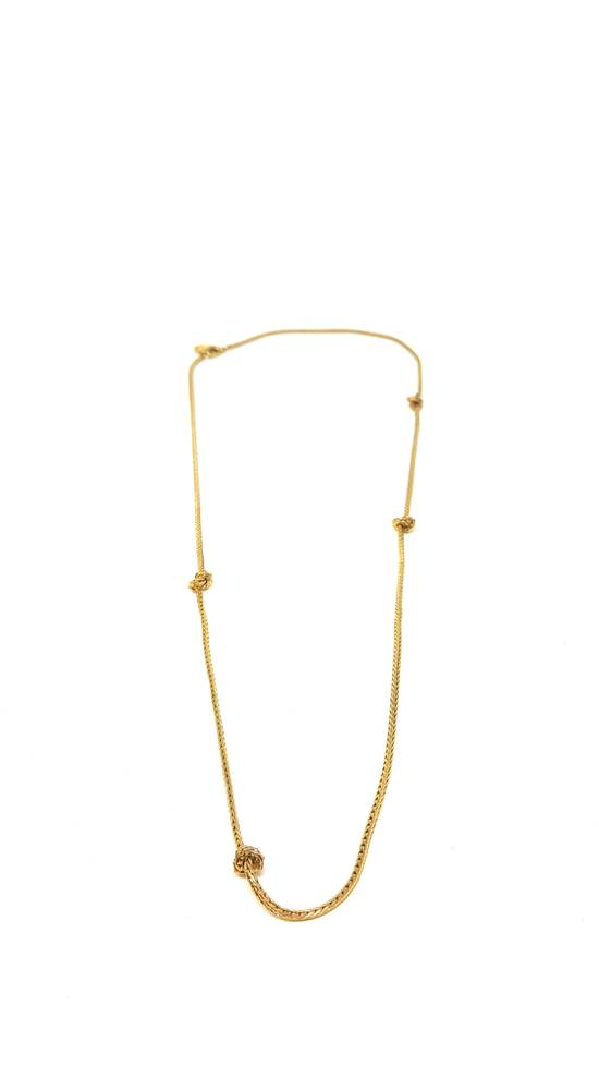 Givenchy Barbed wire gold plated necklace Size ONE SIZE - 2