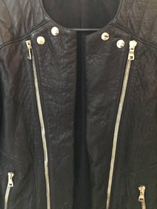 Balmain Classis Leather Jacket Size US M / EU 48-50 / 2 - 1