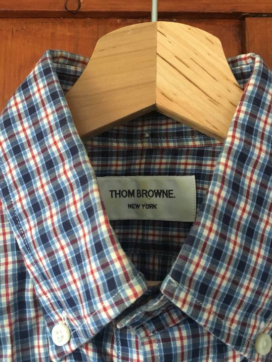 Thom Browne Gingham Shirt Size US S / EU 44-46 / 1 - 1