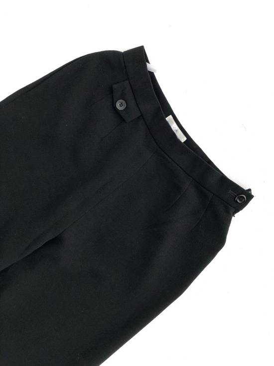 Givenchy Givency Life Black Formal Wool Trousers Pants Size US 27 - 2