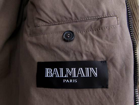 Balmain AW11 Khaki Military Down Jacket sz. 44 Size US XS / EU 42 / 0 - 9