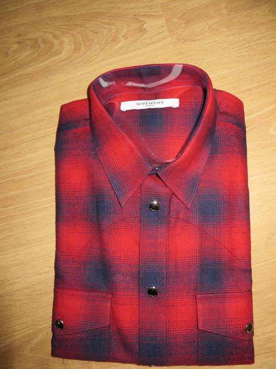 Givenchy Flannel check- shirt Size US L / EU 52-54 / 3 - 4