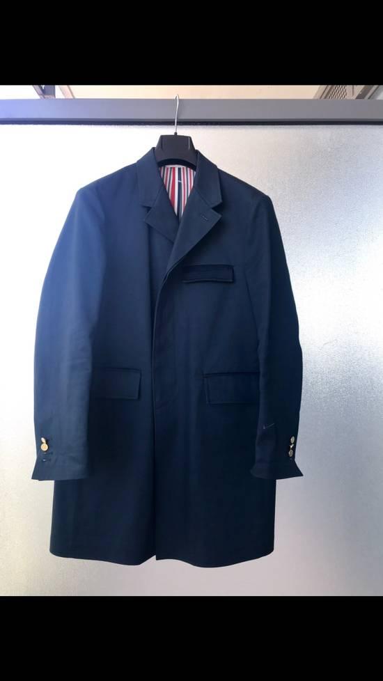 Thom Browne BACKSTRAP Macintosh Coat Size US M / EU 48-50 / 2