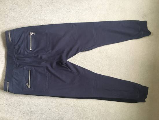 Balmain Navy Sweatpants Size US 32 / EU 48 - 1