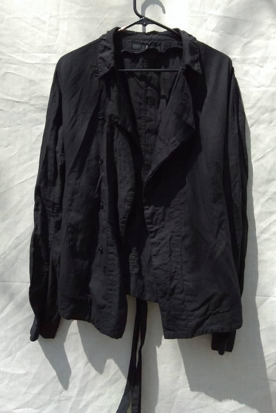 Julius Black Belted Asymmetric Shirt s/s13 Size US M / EU 48-50 / 2 - 1