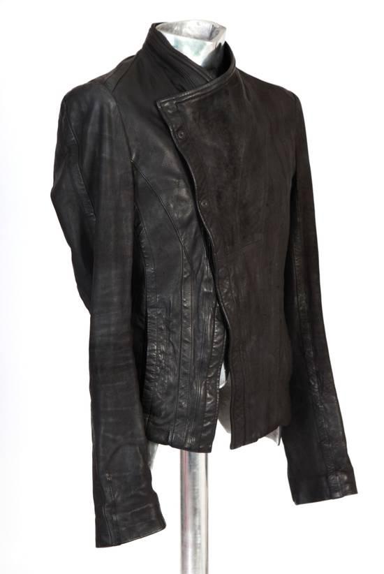 Julius Julius Dove Tail Leather Jacket EU46 Small Size 2 S/S 2012 Size US S / EU 44-46 / 1 - 10