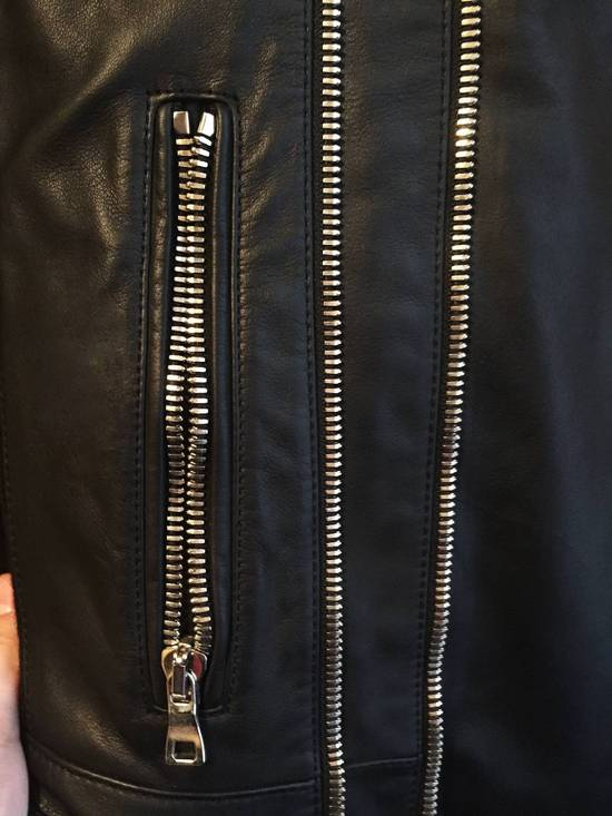 Balmain Balmain Leather biker jacket Size US S / EU 44-46 / 1 - 3