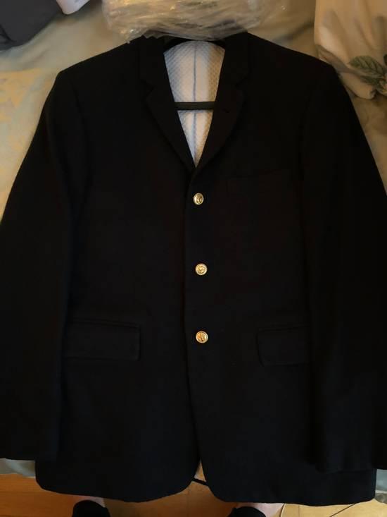 Thom Browne Classic Thom Browne Navy Blazer Size 40S