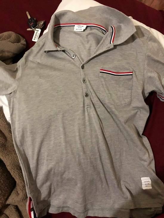 Thom Browne Short sleeve polo shirt Size US M / EU 48-50 / 2 - 1