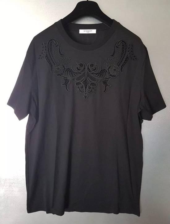 Givenchy OVERSIZED BLACK CROCHET SHIRT Size US S / EU 44-46 / 1