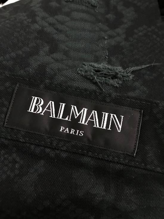 Balmain LAST DROP! Size 32 - Distressed Snake Print Rockstar Jeans - FW17 - RARE Size US 32 / EU 48 - 4